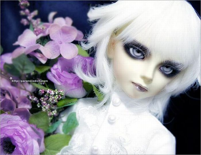 Very Weird Dolls in Gothic Style (28 pics)