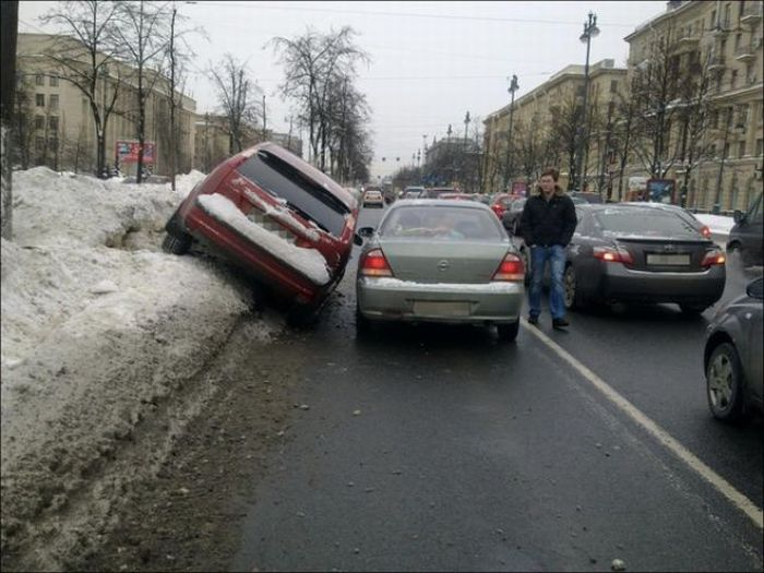 Overtaking Fail (4 pics)