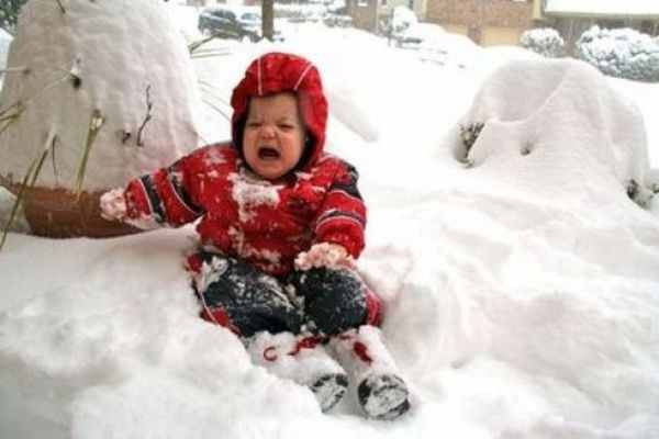 Kids Hate Snowsuits (20 pics)