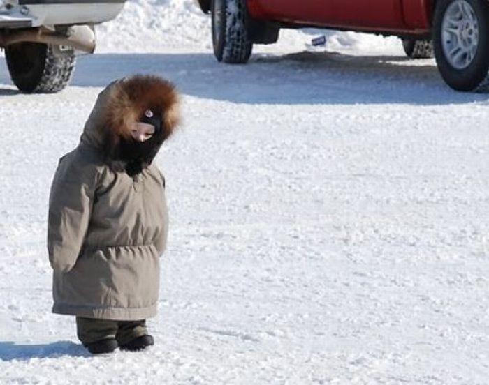 Kids Hate Snowsuits (20 pics)