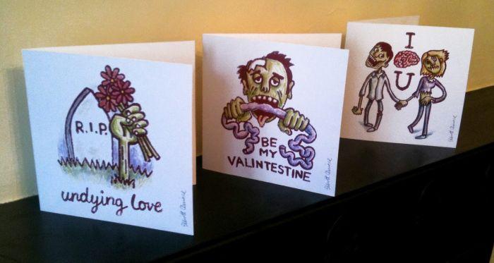Zombie Valentines (7 pics)