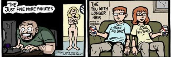 Different Types of Husbands and Wives (4 pics)
