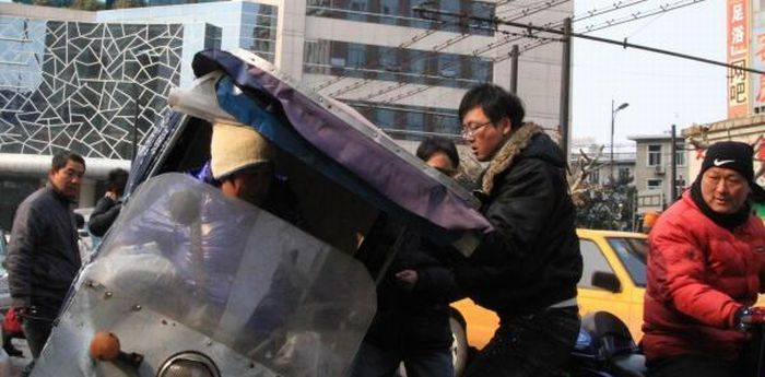 Road Rage in China (12 pics)