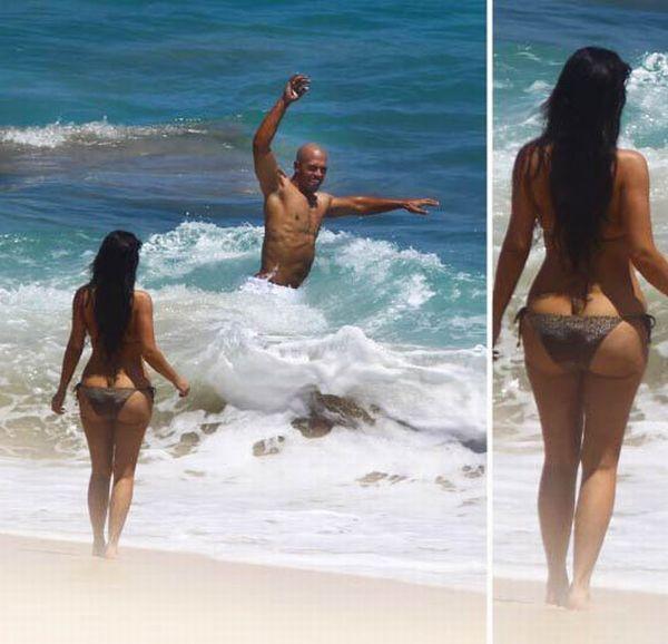 Kim Kardashian's ass