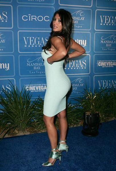 Kim Kardashian's ass)