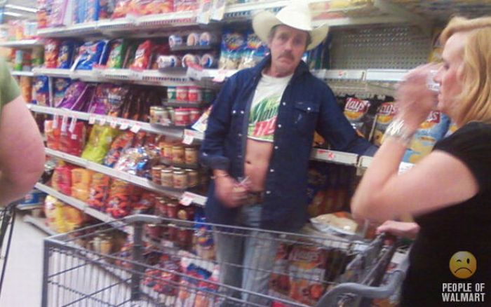 People of WalMart. Part 9 (78 pics)