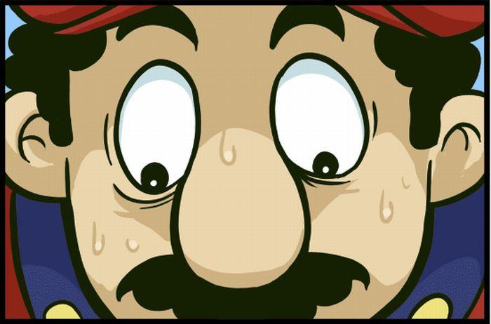 Super Mario Bros by Christopher Nolan (1 pic)