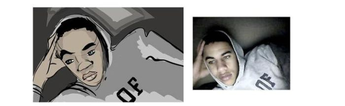 Live Caricatures of People on Chat Roulette (34 pics)