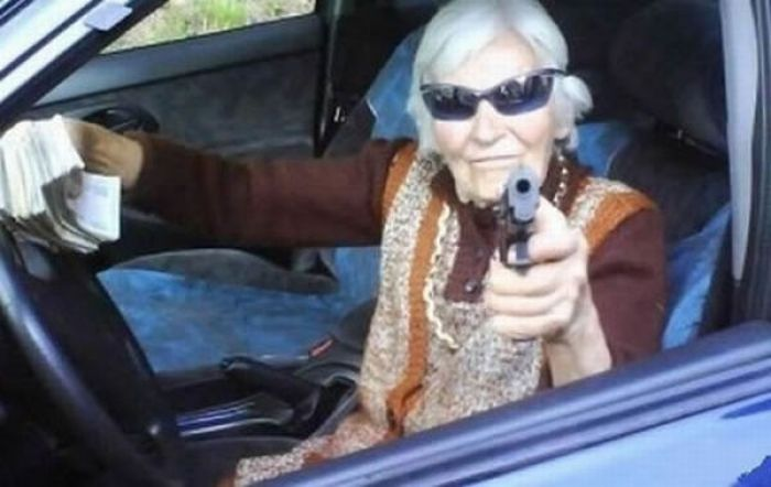 Grannies with Guns (26 pics)