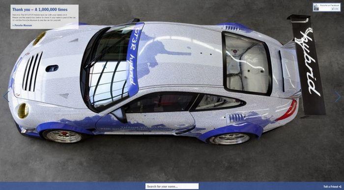 Facebook Porsche GT3 R Hybrid (10 pics)