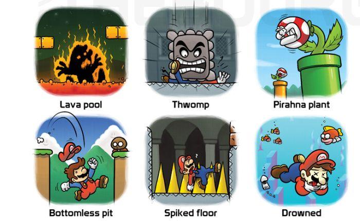 Mario's Cause of Death (10 pics)