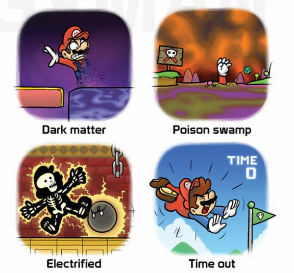 Mario's Cause of Death (10 pics)