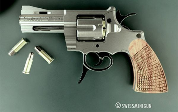 Swiss Mini Gun - World's Smallest Gun (7 pics)