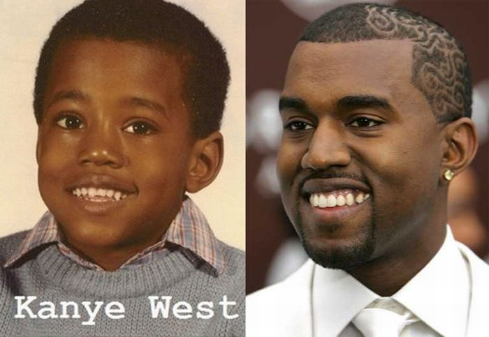 Famous Rappers When They Were Kids (8 pics)