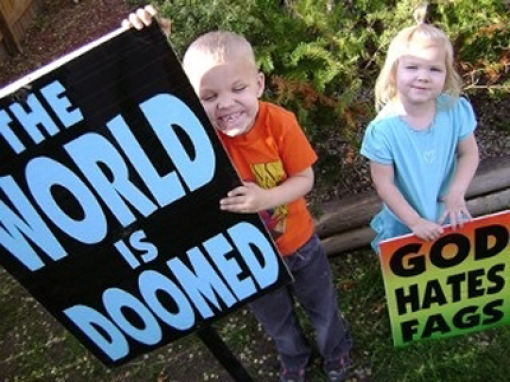 The Children Of Westboro Baptist Church (18 pics)