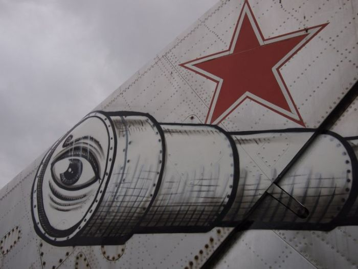 Russian Fighter Jet Art (6 pics)