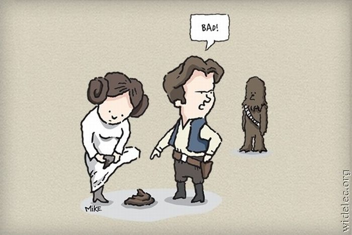 Cool and Funny Star Wars Fan Art (151 pics)