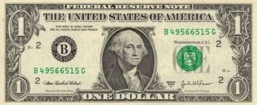 1-Dollar Bill Has Its Secrets (6 pics)