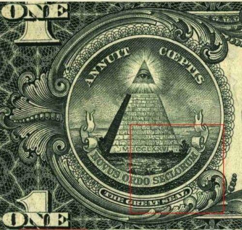 the one dollar bill secrets. 1-Dollar Bill Has Its Secrets