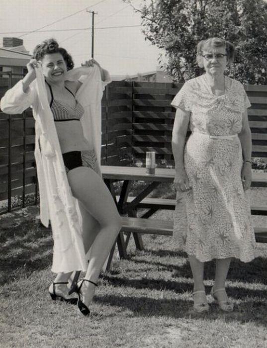 Weird and Funny Retro Photos (38 pics)