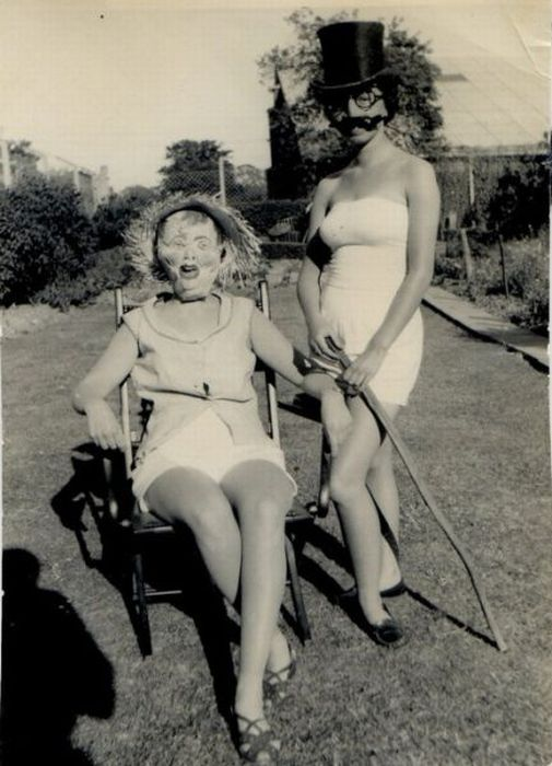 Weird and Funny Retro Photos (38 pics)