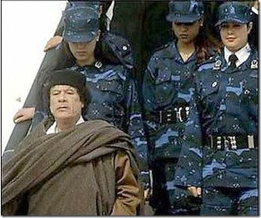 Gaddafi's All Female Bodyguards (38 pics)