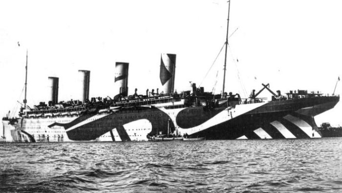 Ships Camouflage from WW1 (16 pics)