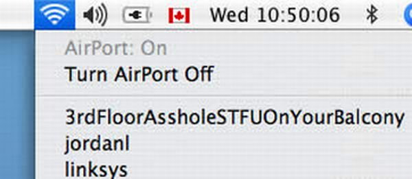 Funny WiFi Network Names (27 pics)