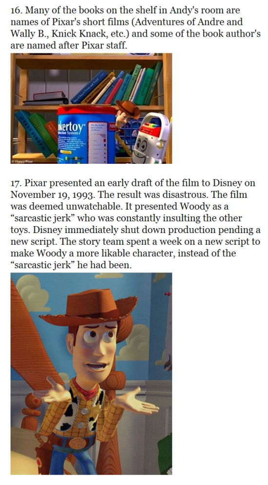 33 Things You Probably Didn't Know About The 'Toy Story' Trilogy (17 pics)