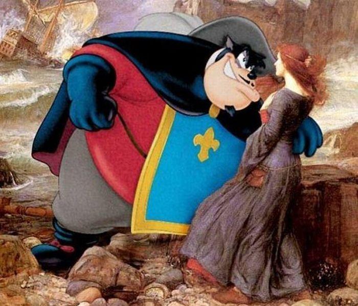 When Art Meets Cartoons (13 pics)