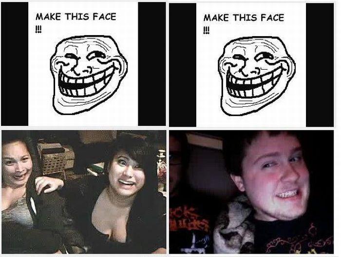 Meme faces - Omegle version (6 pics)