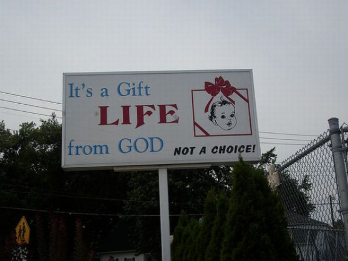 Anti-Abortion Signs (26 pics)
