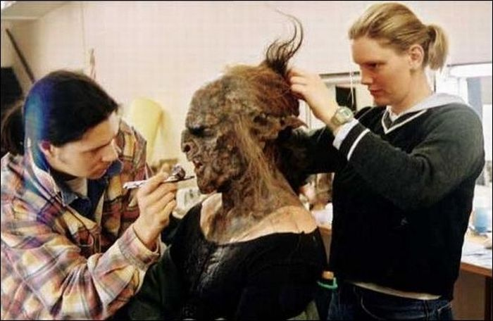 Photos from the Set of Lord of the Rings (50 pics)