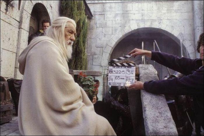 Fotos del set de El Señor de los Anillos
