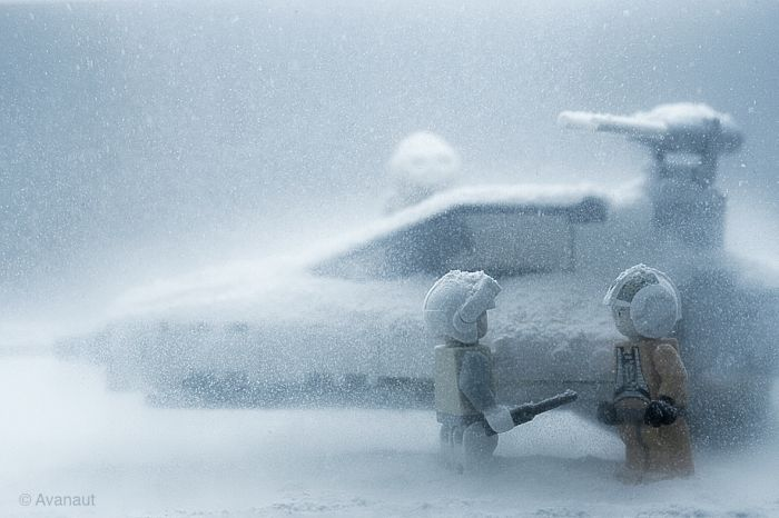 Star Wars. Winter Edition (45 pics)