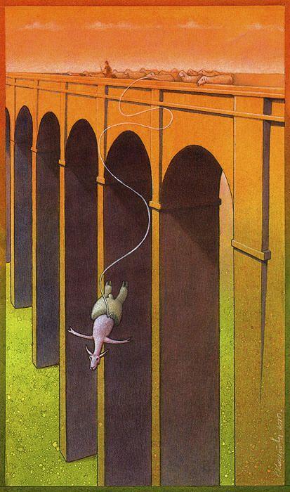 Satiric Drawings by a Polish Artist Pawel Kuczynski (88 pics)