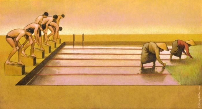 Satiric Drawings by a Polish Artist Pawel Kuczynski (88 pics)