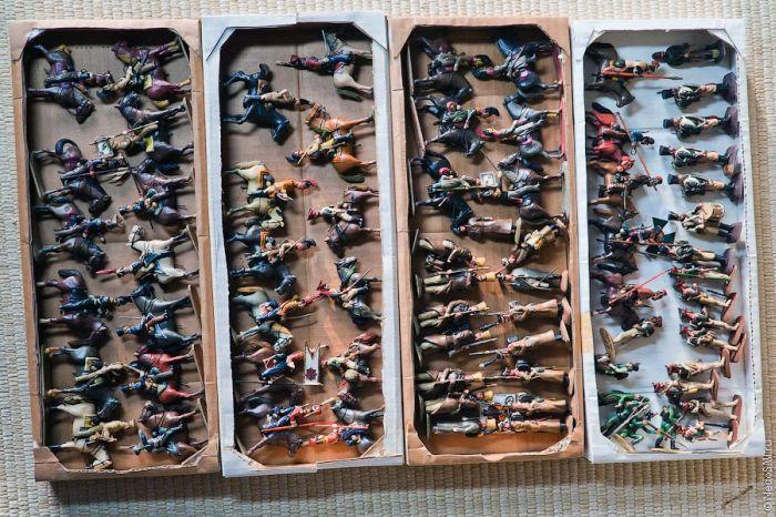 Plasticine Army (70 pics)