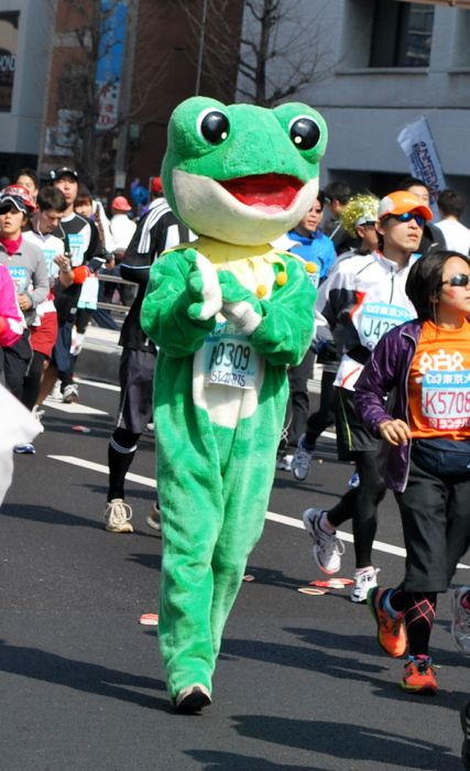 The Best Costumes at the Tokyo Marathon 2011 (30 pics)