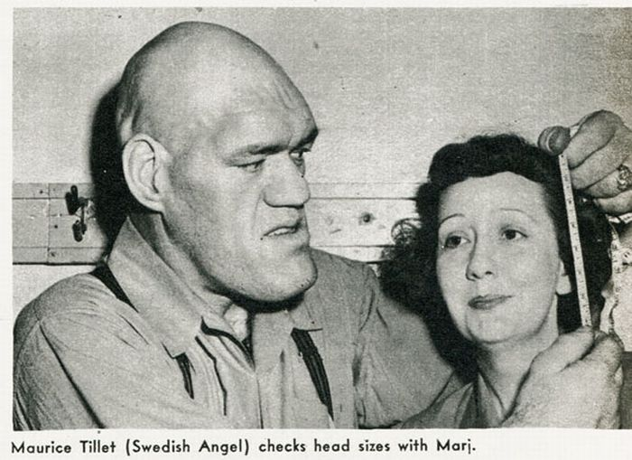 Maurice Tillet, the Real World Shrek (15 pics)