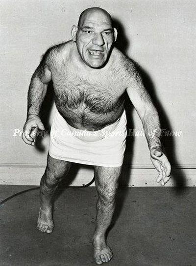 Maurice Tillet, the Real World Shrek (15 pics)