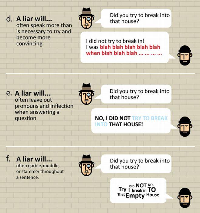 How to Spot a Liar (8 pics)