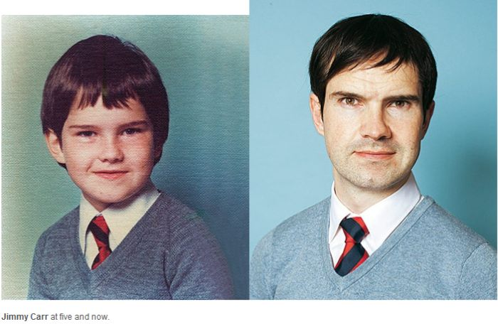 Then And Now: Celebrity Comedians (12 pics)