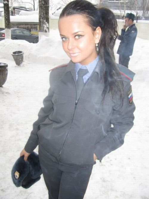 Russian Policewomen Are Kind of Fun (36 pics)