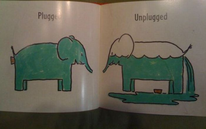 Pages from a Strange Children's Book (6 pics)