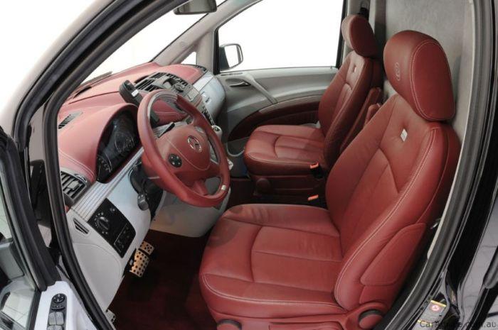 Brabus iBusiness 3D Mercedes-Benz Viano (17 pics)