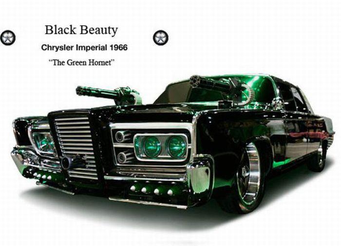 Famous Movie Cars (19 pics)
