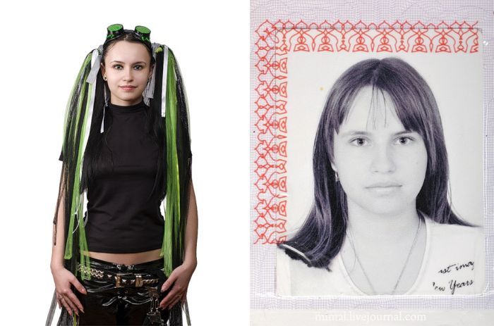 Photo in Your Pass and in the Real Life (27 pics)