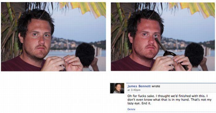 Facebook Face Prank (8 pics)