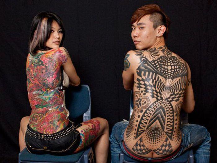Tattoos and Body Art Festival (24 pics)